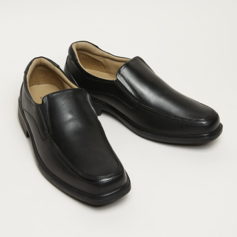 Slip-On Formal Leather Shoes