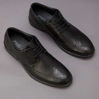 IMAC Brogue Shoes with Lace-Up Detail