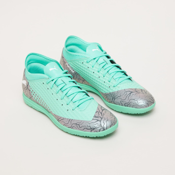PUMA Men's Printed Football Shoes with Lace Closure