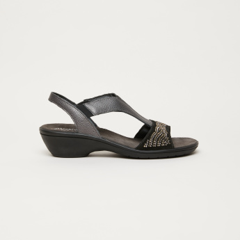 IMAC Studded Sandals with Elasticised Gussets
