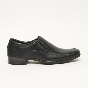 Duchini Stitch Detail Slip-On Shoes