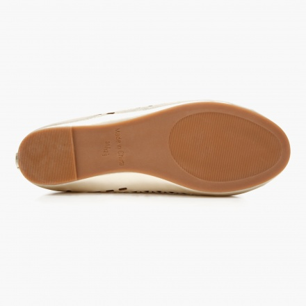 Elle Solid Colour Ballerina Shoes
