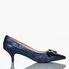 Celeste Textured Slip-On Stilettos