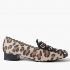Elle Plush Detail Slip-On Shoes