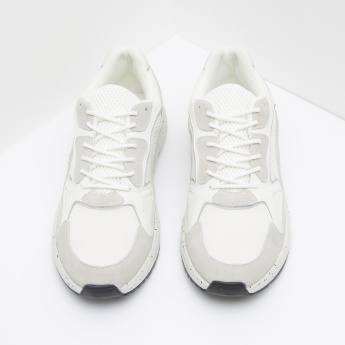 ELLE Low Top Lace Up Sneakers