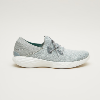 Skechers Textured Lace-Up Shoes