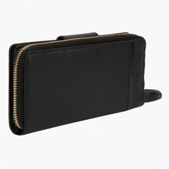 Peppermint Zip Around Bi-fold Wallet
