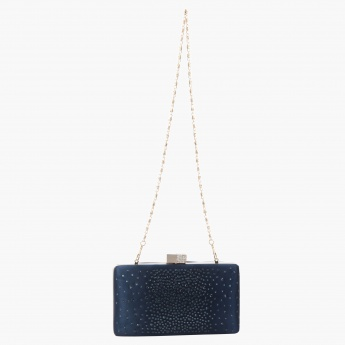 Celeste Embellished Clutch