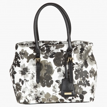 Marla London Floral Print Bag