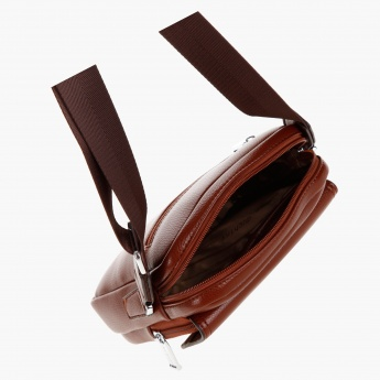 Duchini Zippered Sling Bag