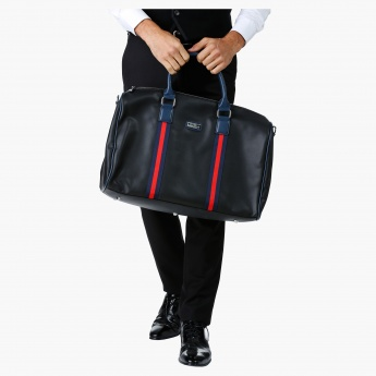 Duchini Duffel Bag with Stripes