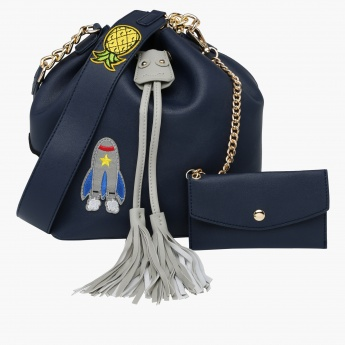 Missy Bucket Bag with Drawstring Closure