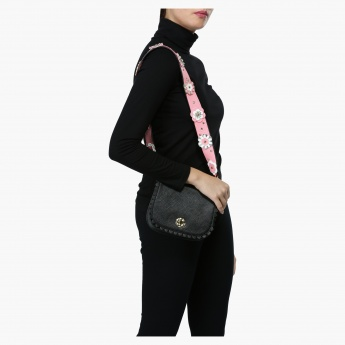 Missy Embellished Satchel Bag