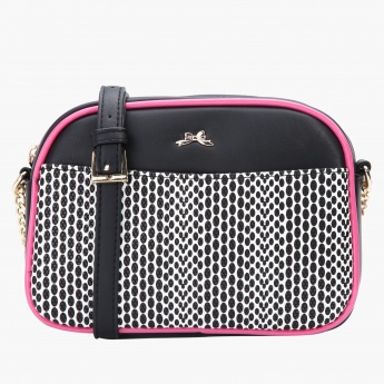 Missy Printed Crossbody Bag with Sling