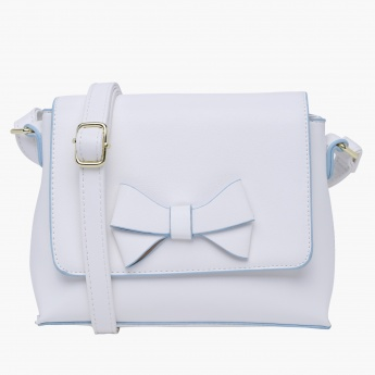 Missy Applique Satchel Bag