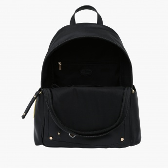 Missy Backpack with Zip Closure