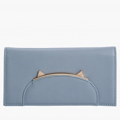 Missy Wallet with Flap Closure