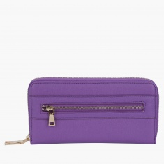 Paprika Clutch with Zippered Opening