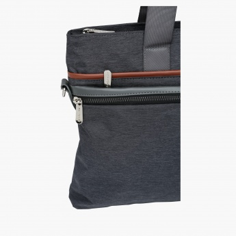 Duchini Laptop Bag with Zip Closure