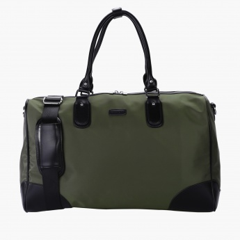 Duchini Duffel Bag with Long Strap and Dual Handles