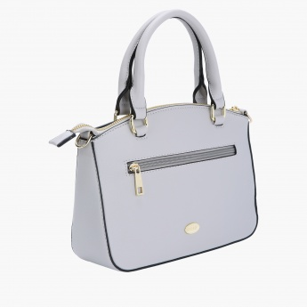 Missy Handbag with Zip Closure