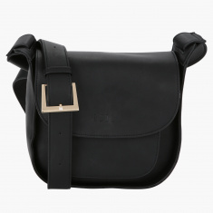 Elle Bag with Flap and Magnetic Snap Closure