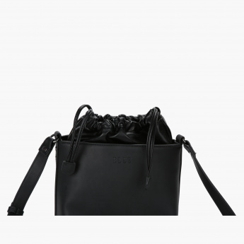 Elle Bucket Bag with Drawstring Closure
