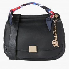 Elle Satchel Bag with Single Handle and Strap
