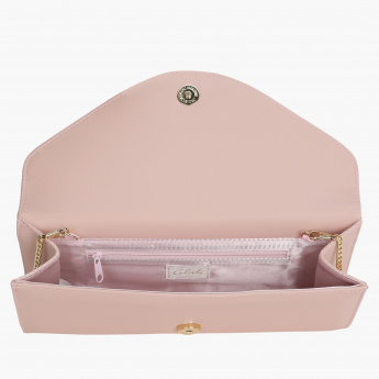 Celeste Clutch with Snap Closure