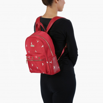 Paprika Embroidered Backpack
