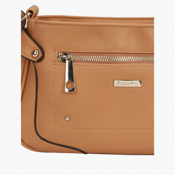 Paprika Crossbody Bag with Zip Closure