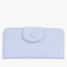 Paprika Bi-Fold Wallet with Snap Closure