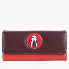Missy Tri-Fold Wallet with Snap Closure