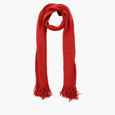 Celeste Scarf with Fringes