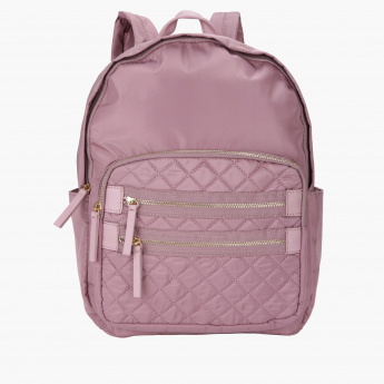 Paprika Quilted Backpack