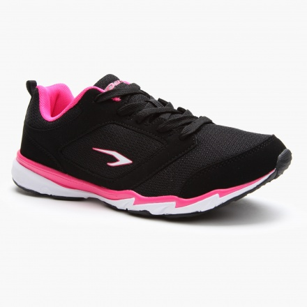 Dash Textured Lace-up Sports Shoes