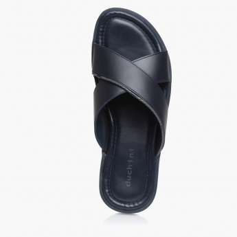 Duchini Cross Strap Sandals