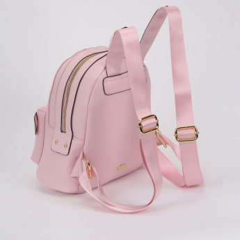 Missy Backpack with Zip Closure and Adjustable Straps