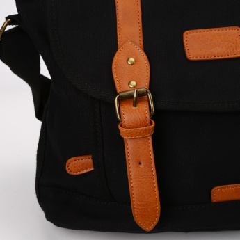 Lee Cooper Satchel Bag with Buckle Closure