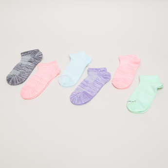 Skechers Printed Ankle Length Socks - Set of 6