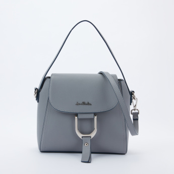 Jane Shilton Satchel Bag with Magnetic Snap Closure