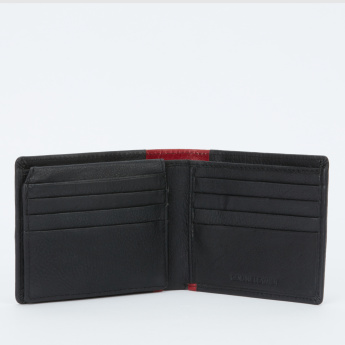 Duchini Textured Bi-Fold Wallet with Multiple Pockets