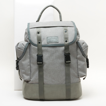 Lee Cooper Backpack with Flap and Buckle Closure