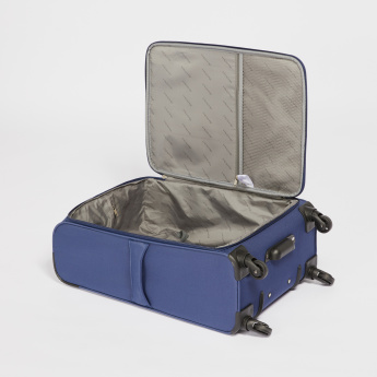 Ducchini Soft Case Trolley Bag with Zip Closure