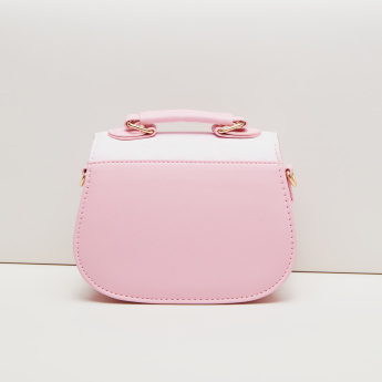 Princess Aurora Satchel Bag with Magnetic Snap Closure