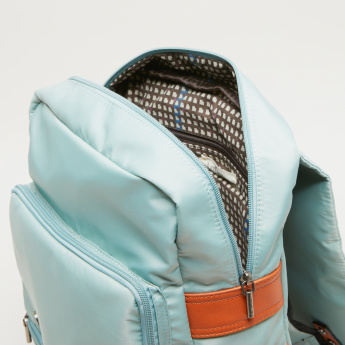 Lee Cooper Backpack with Flap and Adjustable Straps