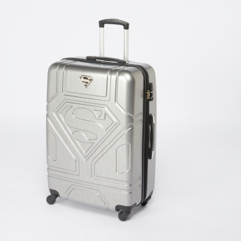 e9556066bc1877 Superman Textured Hard Case Trolley Bag with Combination Lock ...