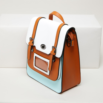 Missy Backpack with Twist Lock and Adjustable Straps