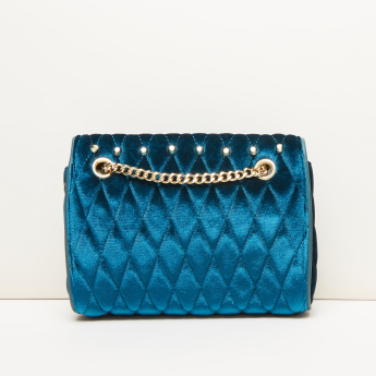 Celeste Quilted Satchel Bag with Magnetic Snap Closure