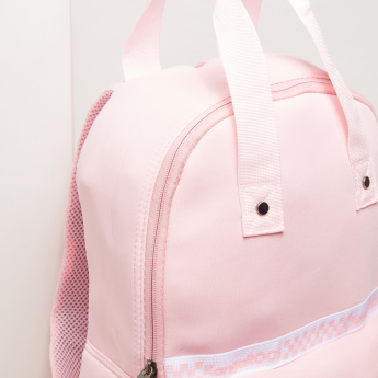 KangaROOS Multi-Pocket Backpack with Zip Closure and Twin Handles